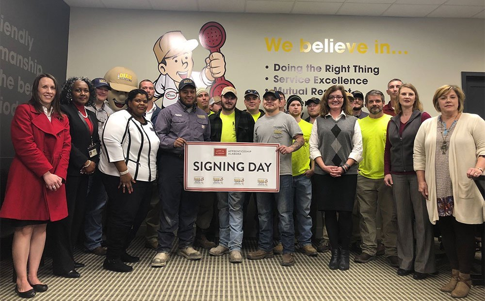 group image of apprenticeship Alabama members