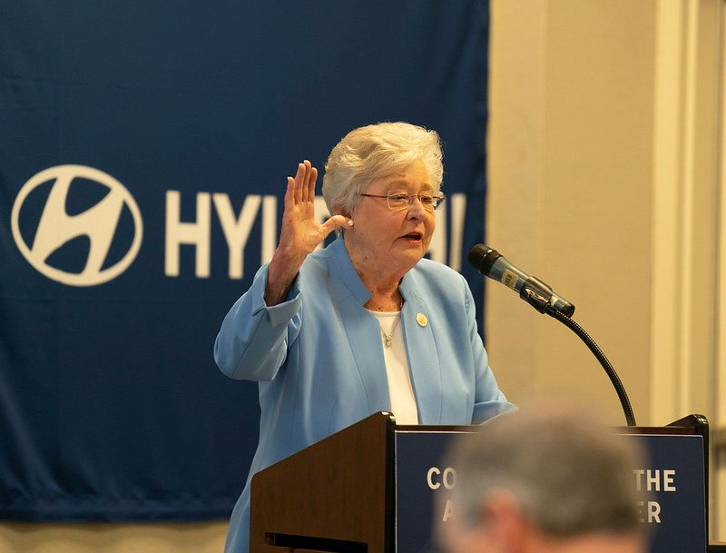 Kay Ivey speaking to ACCCP