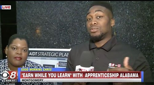 Success Plus interview on the local news