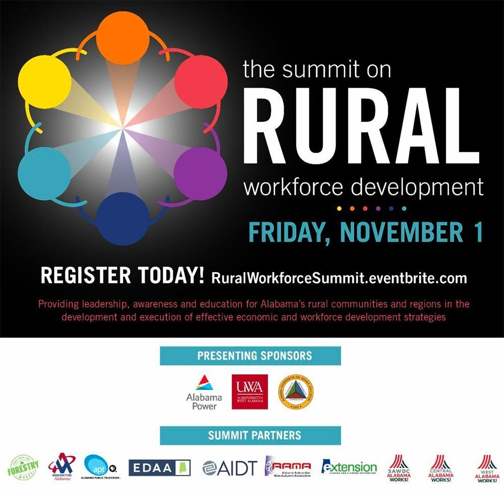 rural workforce development summit ad